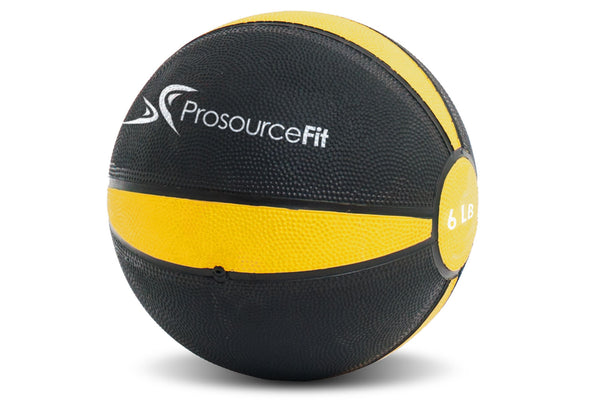 Rubber Medicine Ball 6 lb