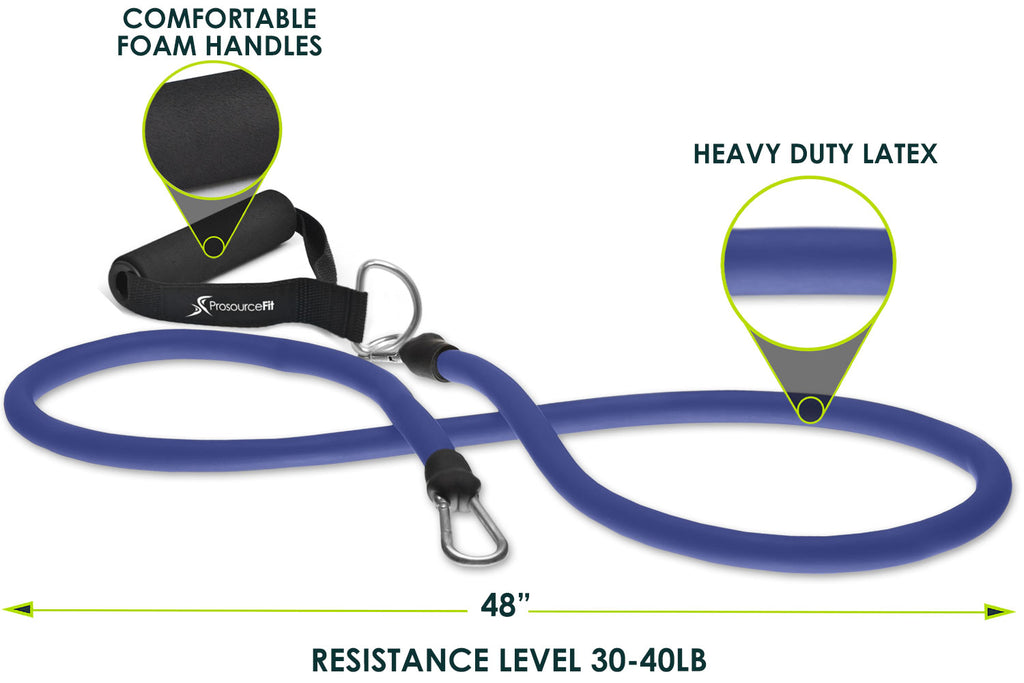 Single Stackable Resistance Band 30 lb to 40 lb