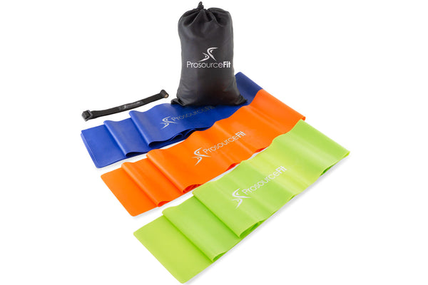 Therapy Flat Resistance Bands Set