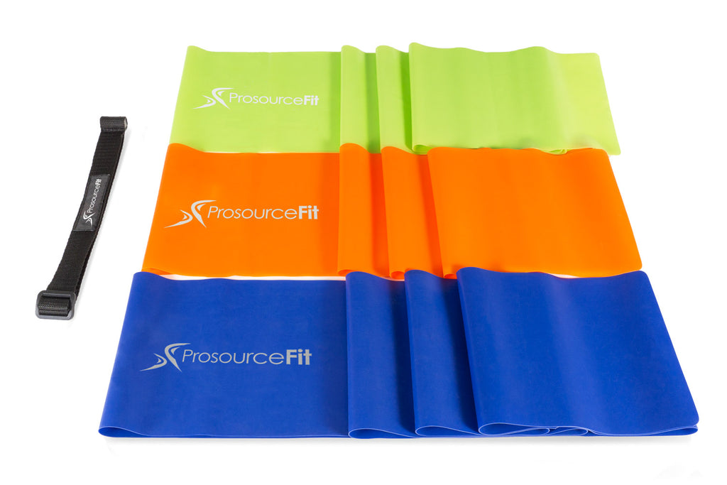 Therapy Flat Resistance Bands Set Therapy Flat Resistance Bands Set