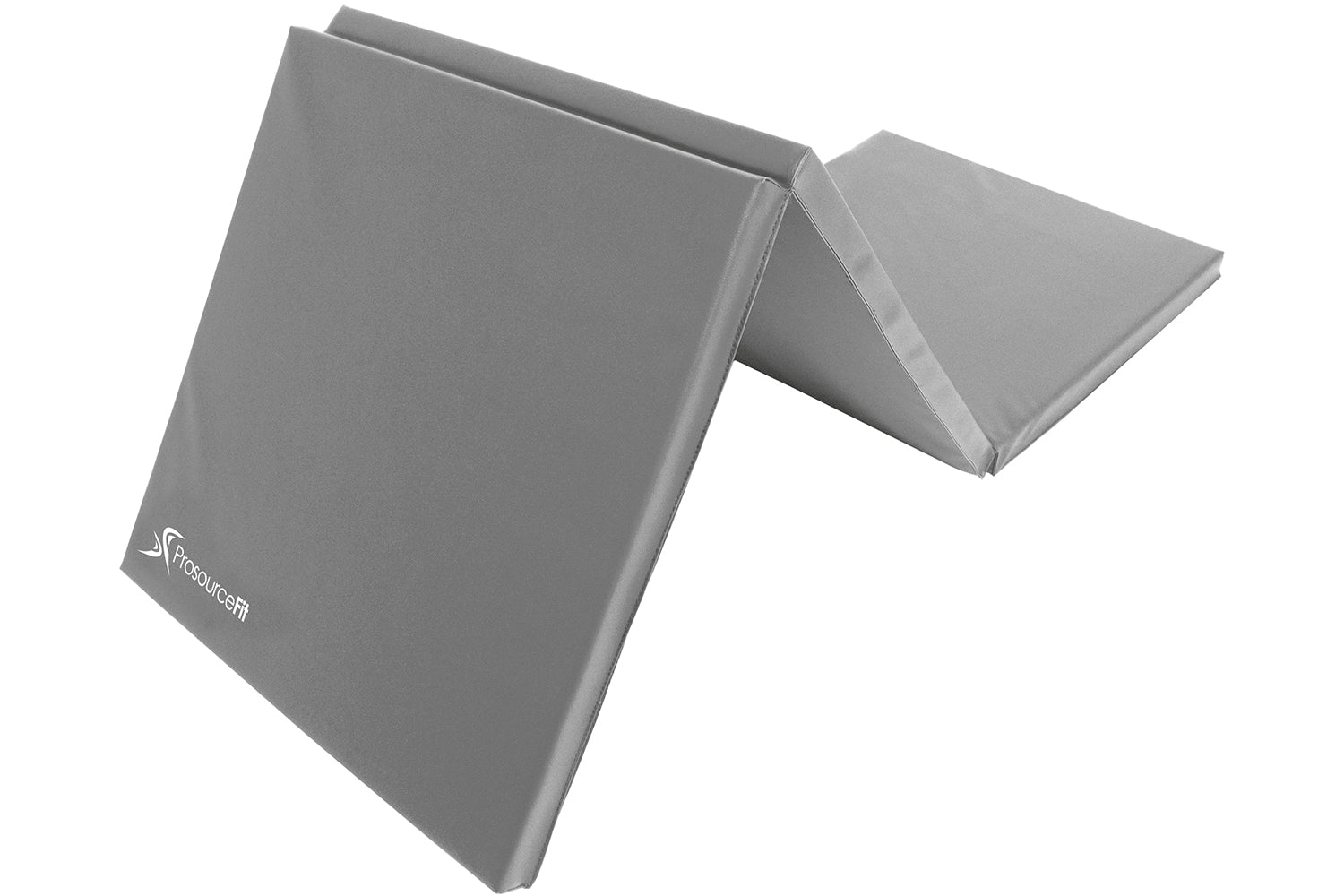 Grey Tri-Fold Folding Exercise Mat 6x2x1.5