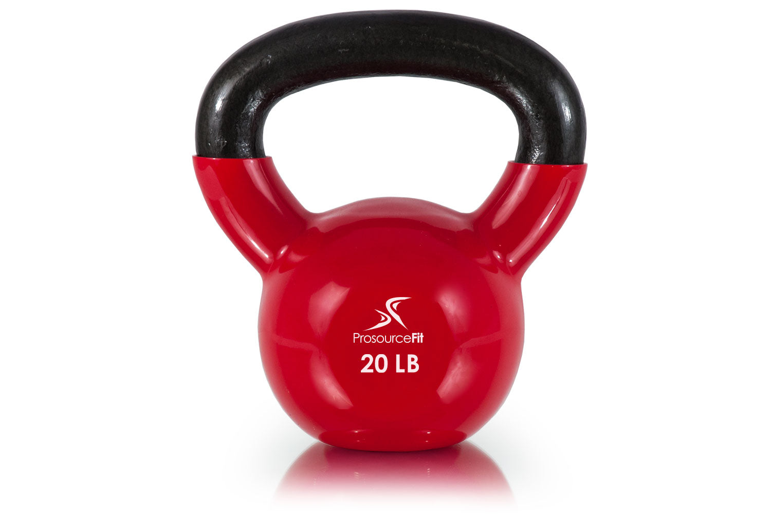20 lb Vinyl Coated Cast Iron Kettlebells