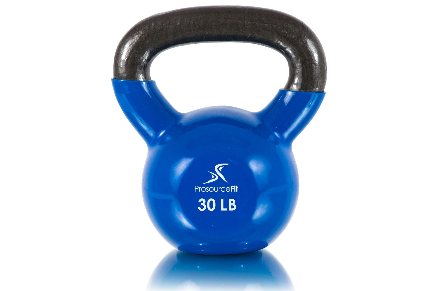 30 lb Vinyl Coated Cast Iron Kettlebells