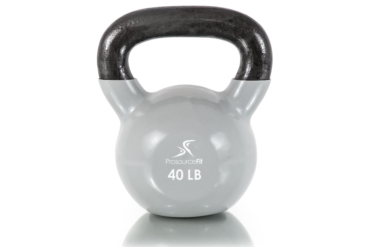 40 lb Vinyl Coated Cast Iron Kettlebells