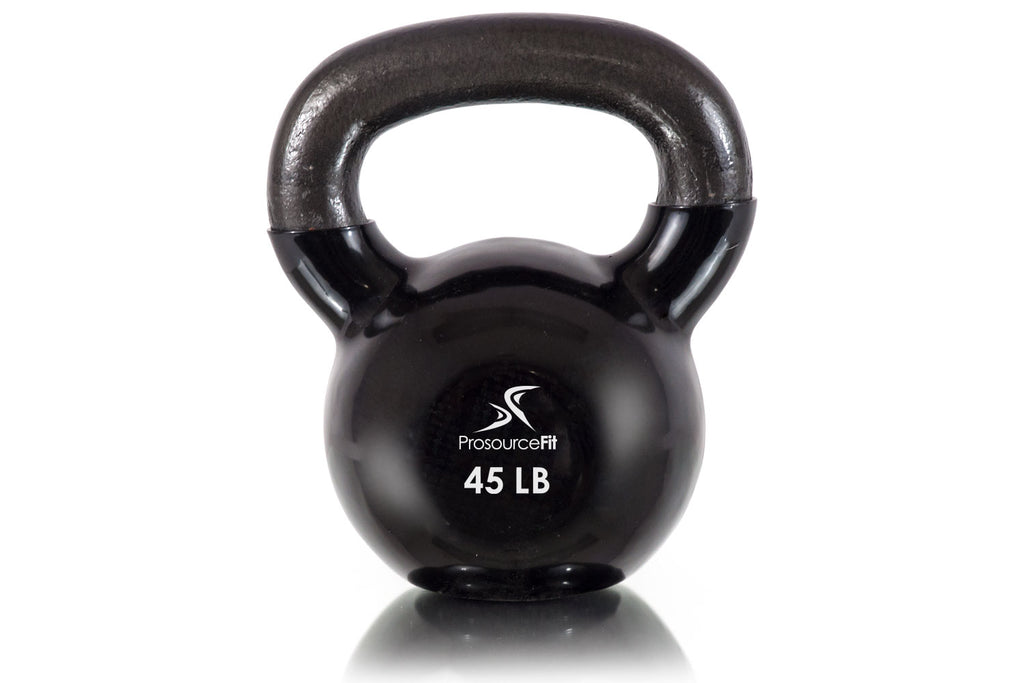 Vinyl Coated Cast Iron Kettlebells 45 lb