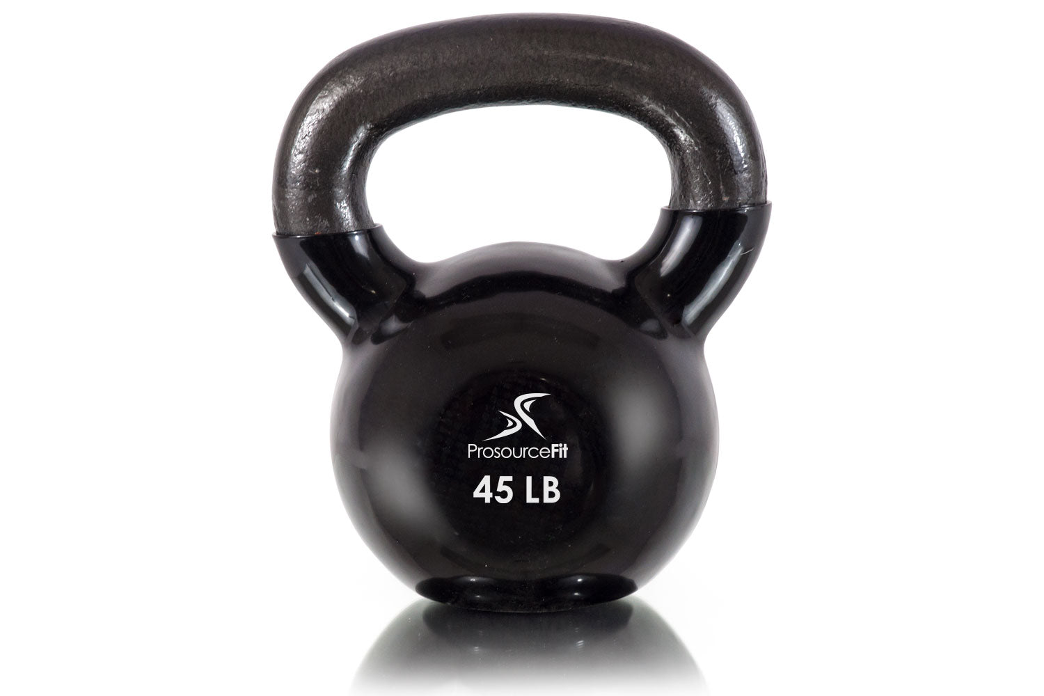 45 lb Vinyl Coated Cast Iron Kettlebells