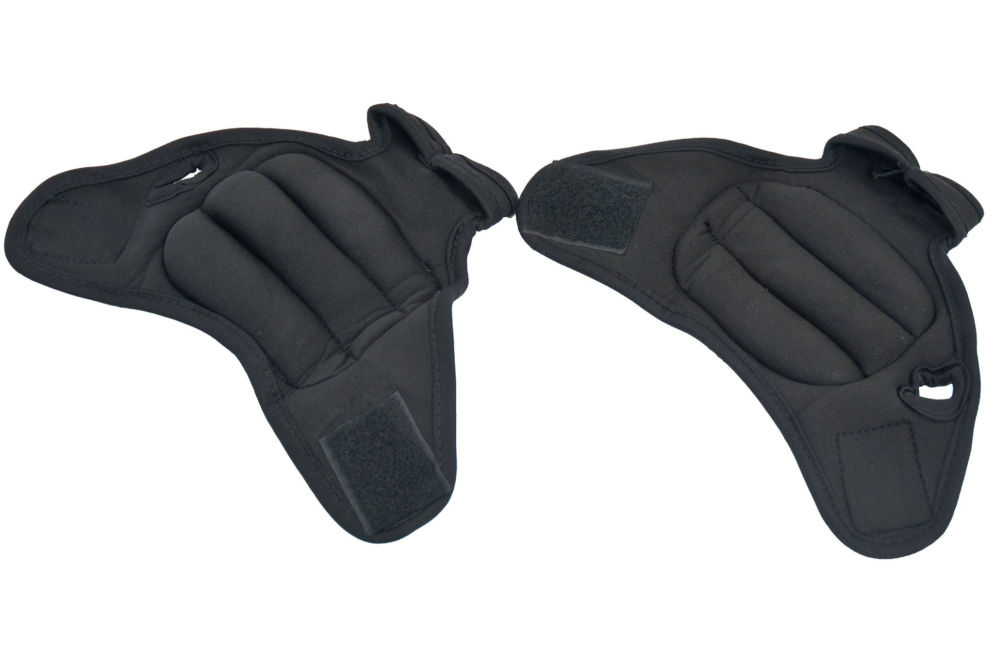 Black Weighted Gloves