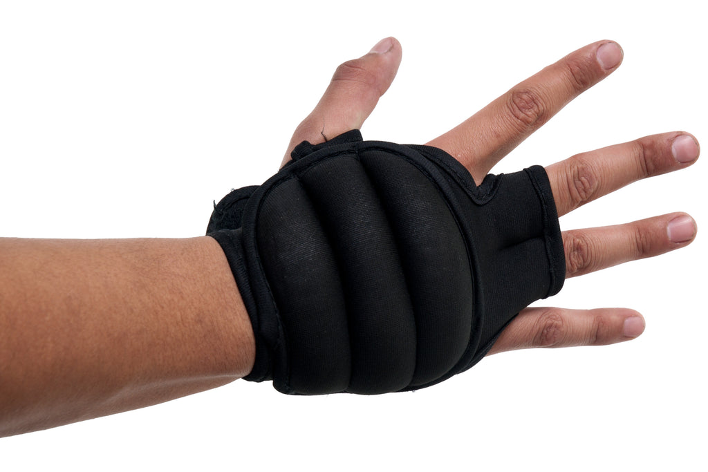 Weighted Gloves Black