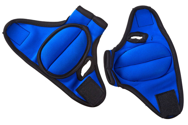 Weighted Gloves Blue