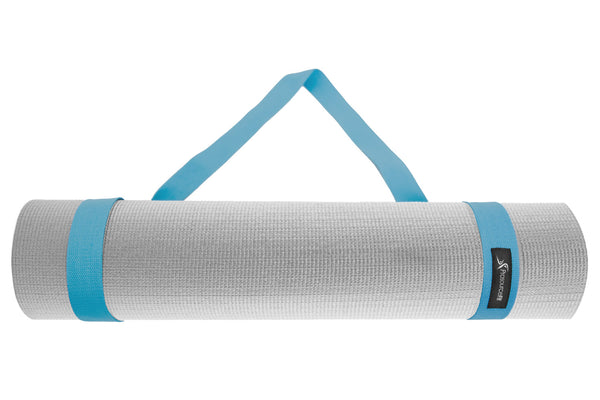 Yoga Mat Carrying Sling Aqua