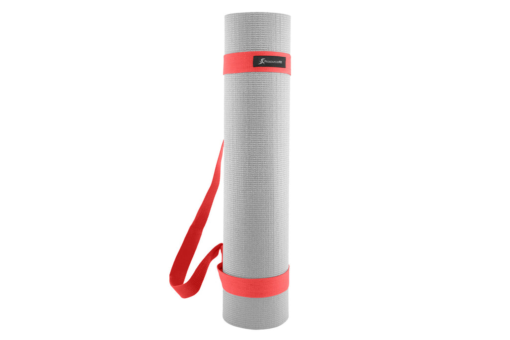 Yoga Mat Carrying Sling Red