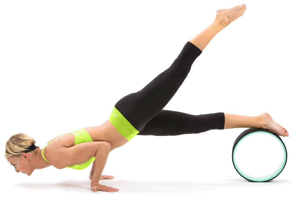 Yoga Wheel Black-Green