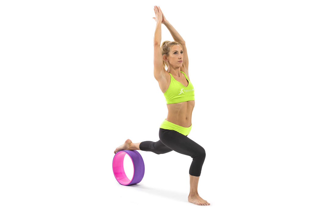 Yoga Wheel Purple-Pink
