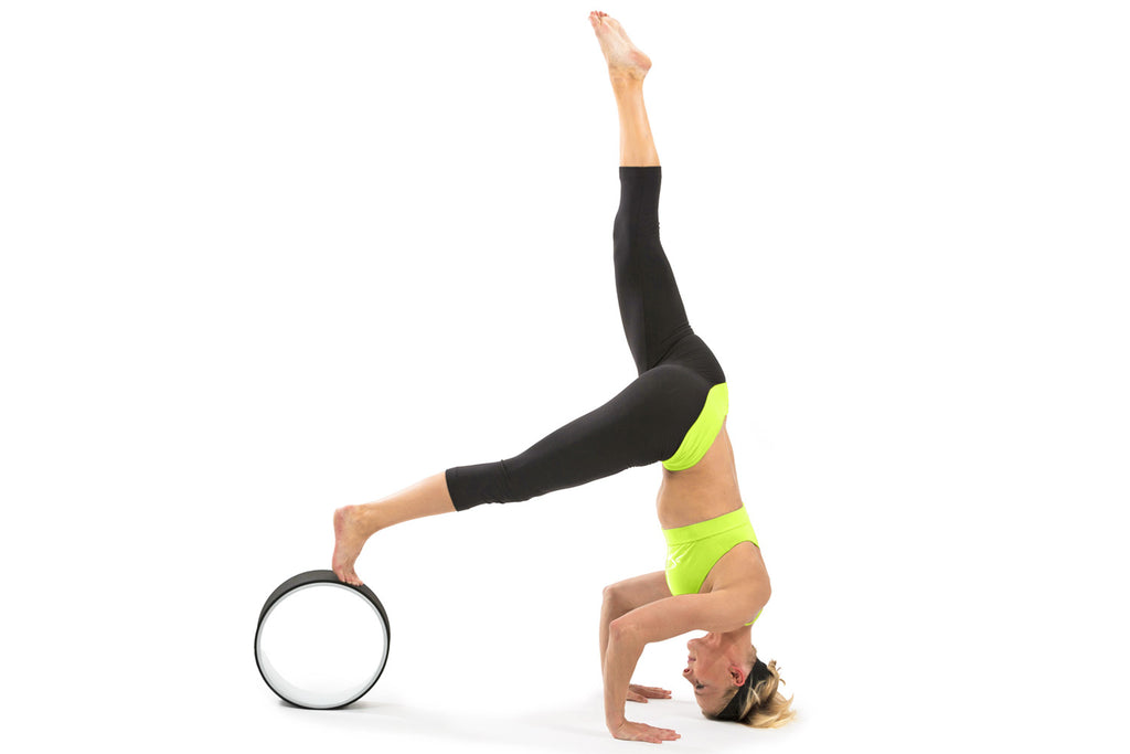 Yoga Wheel Black-White