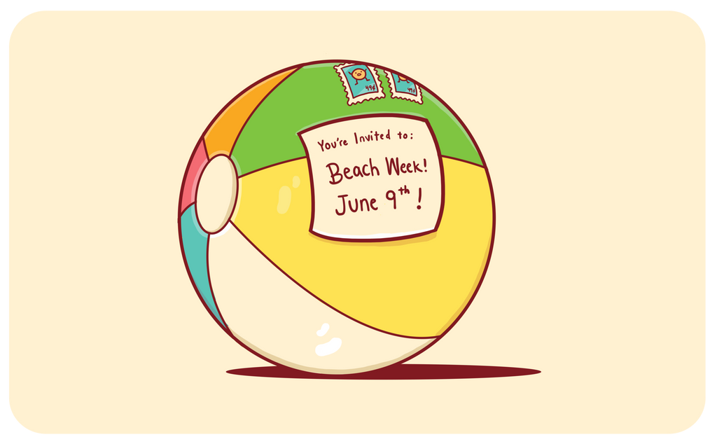The Inflated Beach Ball