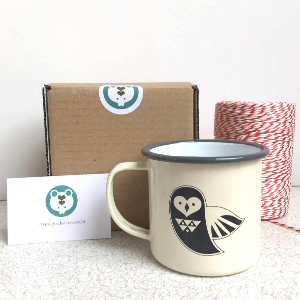 Enamel Camping Mugs for Kids