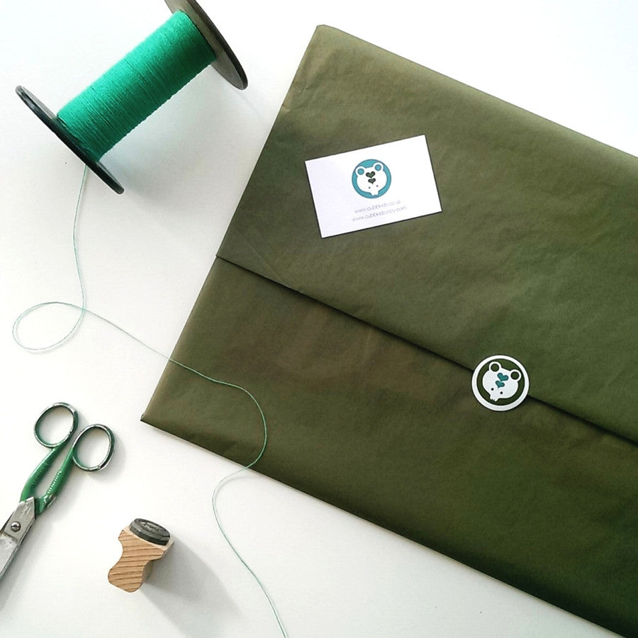 Felt Pennant Flag Packaging
