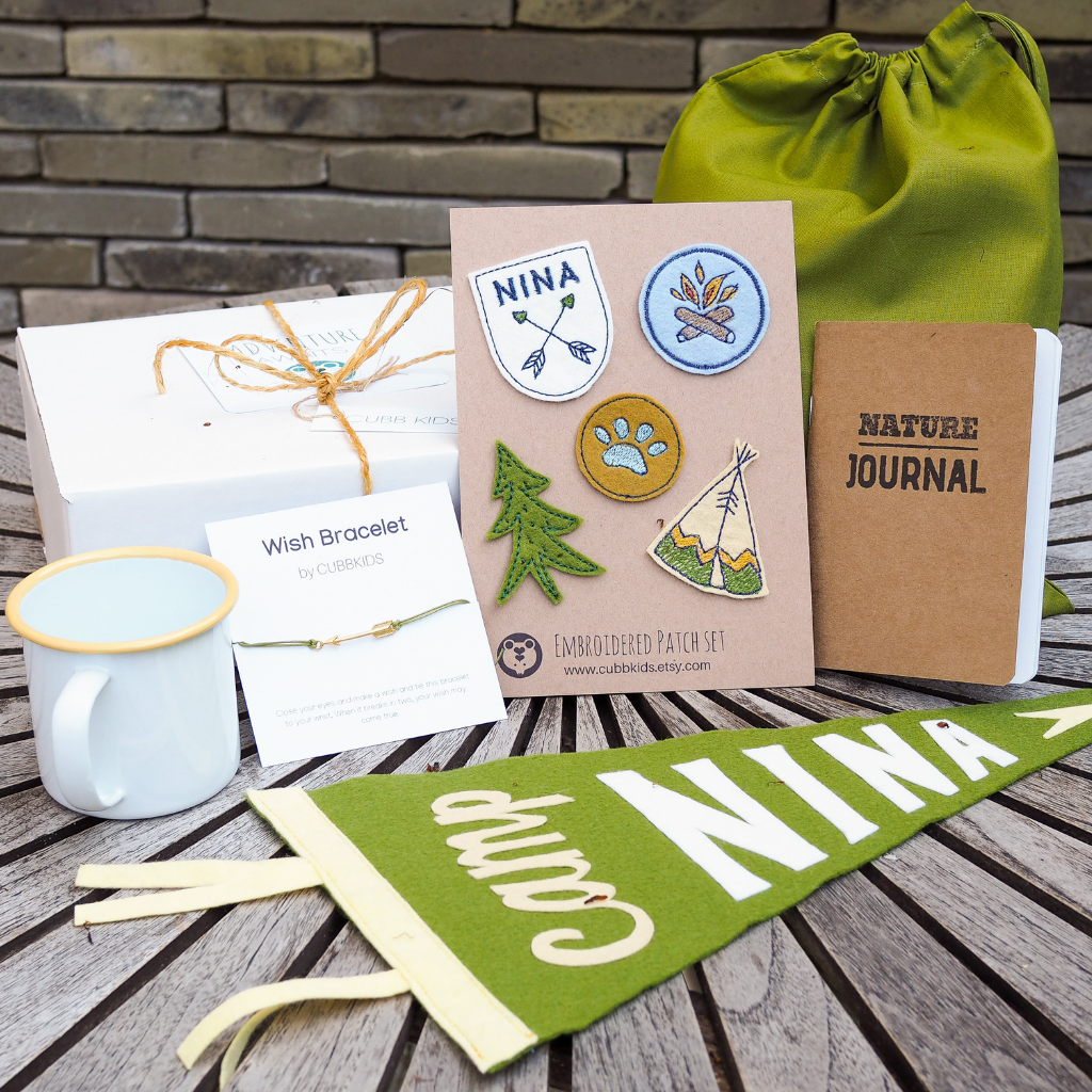 Camping Gift Set - Personalised