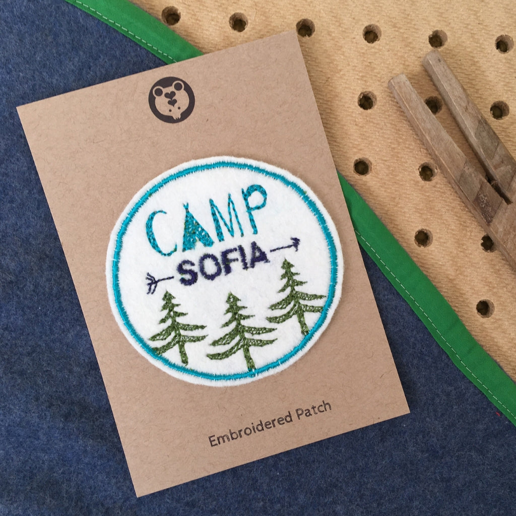 Custom Camping Patch