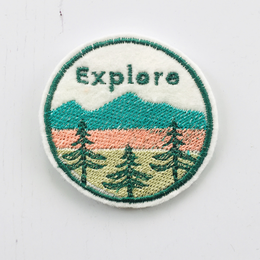 Embroidered Explorer Patch