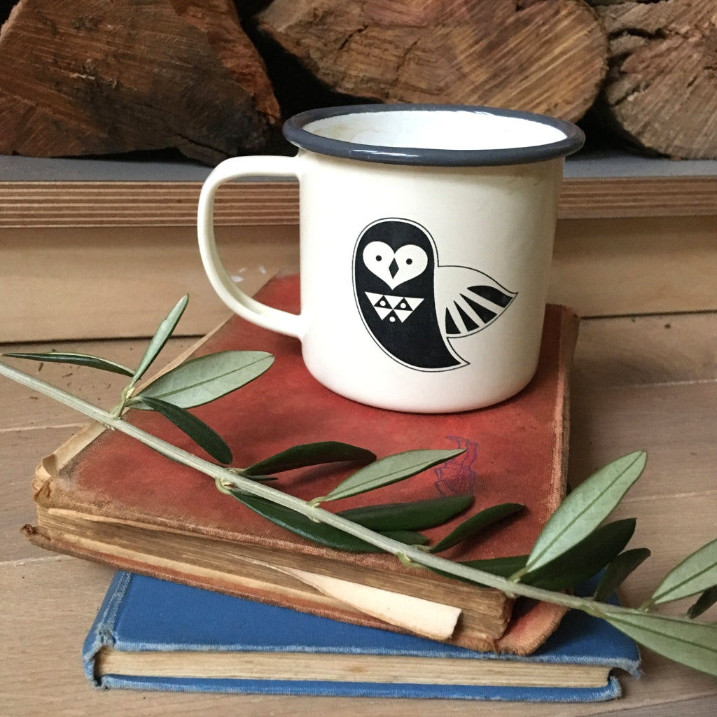 Woodland Animal Camping Mugs