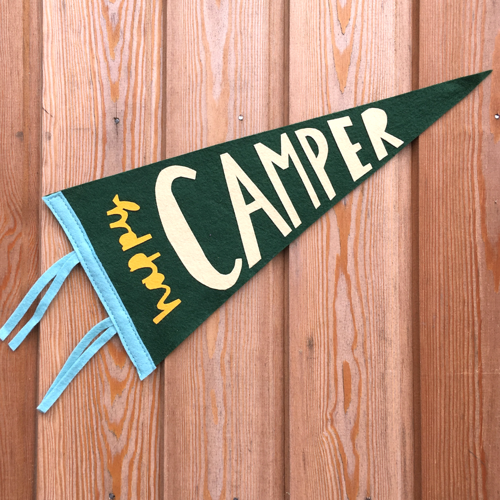 Happy Camper Pennant