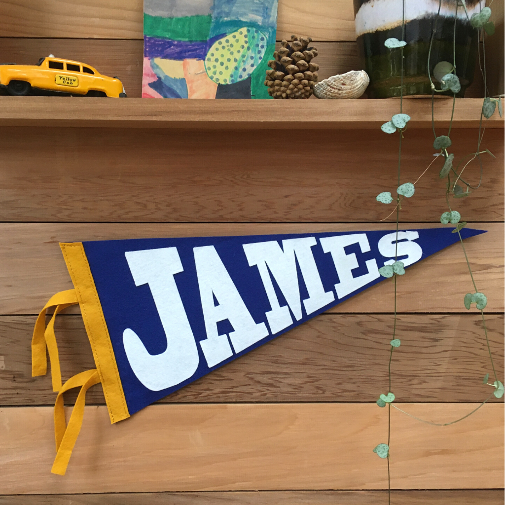 Personalised Name Pennant