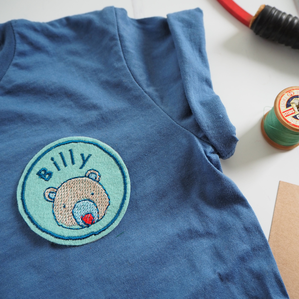 Personalised Bear Patch