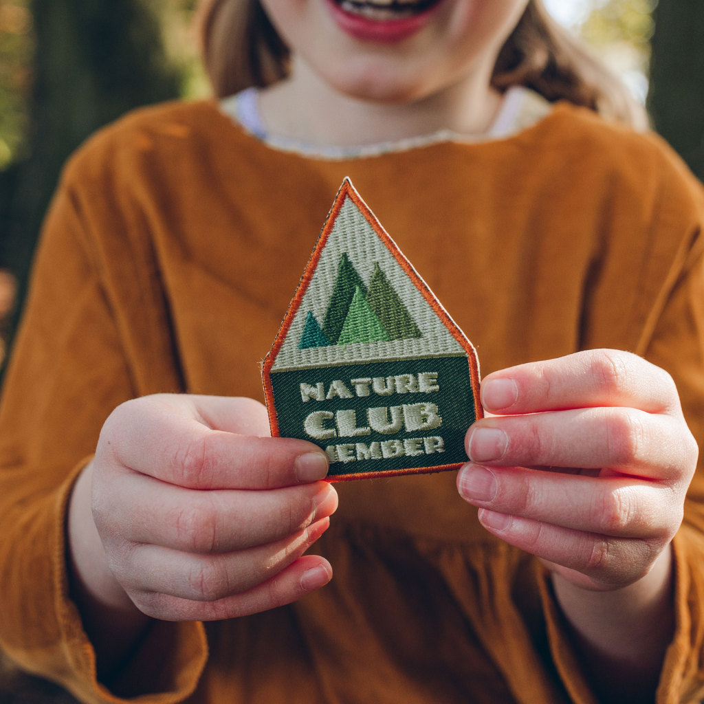 Nature Club Member embroidered Patch
