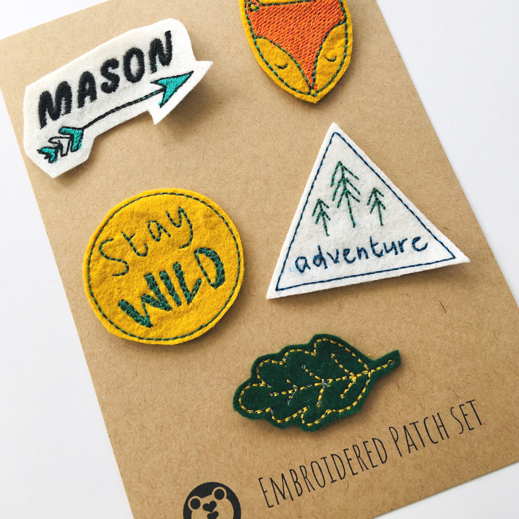 Personalised adventure Patch Set