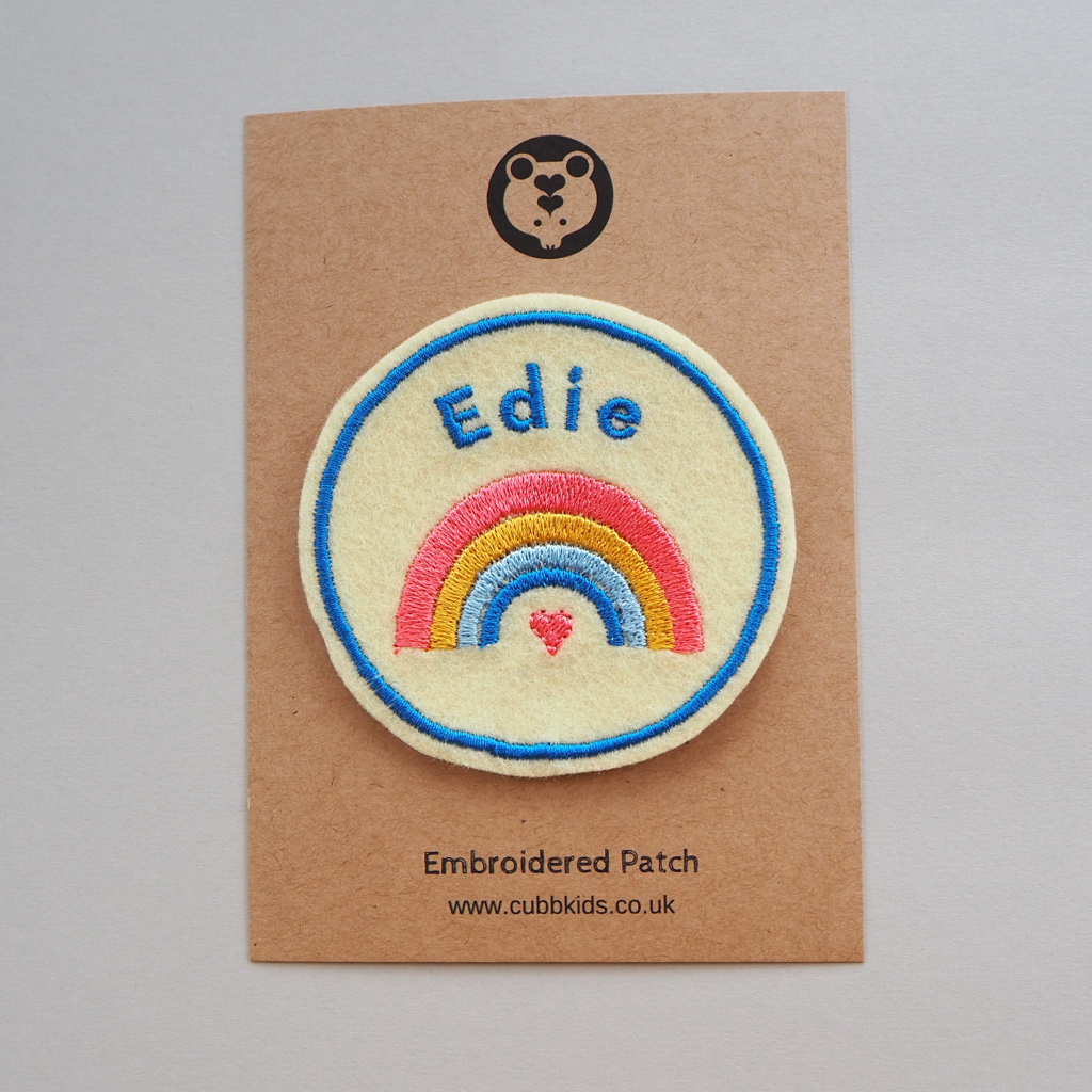 Personalised Rainbow Patch