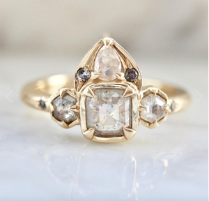 Bali Babe Ice Diamond Ring