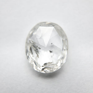 2.12ct 9.12x7.66x3.02mm I1 H Oval Rosecut 18041-03 - Yuliya Chorna Jewellery