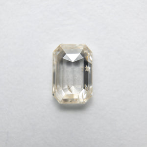 0.59ct 6.12x4.15x2.11mm Cut Corner Rectangle Rosecut 18090-22 - Yuliya Chorna Jewellery