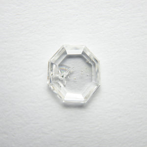 0.88ct 7.05x6.56x1.75mm Octagon Rosecut 18117-08 - Yuliya Chorna Jewellery