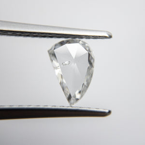 0.65ct 7.88x5.10x1.66mm Amorphous Rosecut 18117-13 - Yuliya Chorna Jewellery