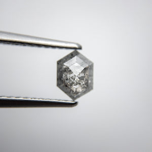 0.62ct 6.39x4.60x2.45mm Hexagon Rosecut 18134-19 - Yuliya Chorna Jewellery