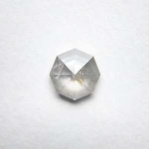 0.78ct 5.95x5.94x2.46mm Octagon Rosecut 18134-28 - Yuliya Chorna Jewellery