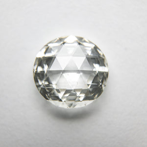 1.59ct 8.36x8.13x2.80mm Round Double Cut 18162-02 - Yuliya Chorna Jewellery