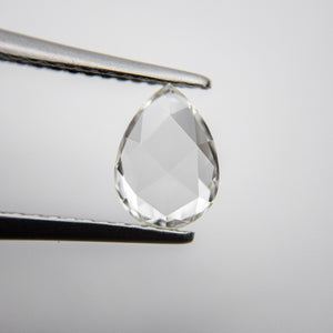 1.01ct 8.19x5.94x2.10mm VS2 I-J Pear Rosecut 18235-08 - Yuliya Chorna Jewellery
