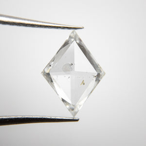 1.50ct 10.99x8.21x2.68mm I1 G/H Kite Rosecut 18275-01 - Yuliya Chorna Jewellery