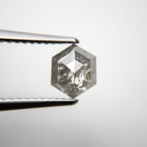 1.03ct 7.23x6.01x3.01mm Hexagon Rosecut 18286-01 - Yuliya Chorna Jewellery