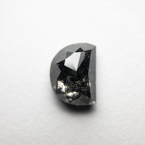 1.21ct 7.07x5.28x3.15mm Half Moon Rosecut 18287-03 - Yuliya Chorna Jewellery