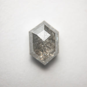 2.44ct 9.74x6.70x4.23mm Hexagon Rosecut 18313-07 - Yuliya Chorna Jewellery