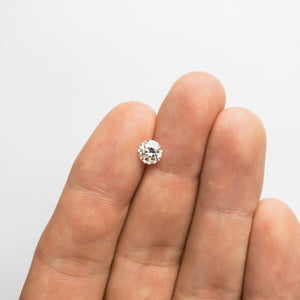 1.17ct 6.47x6.37x4.37mm SI2/I1+ J Old European Cut 18345-01 - Yuliya Chorna Jewellery