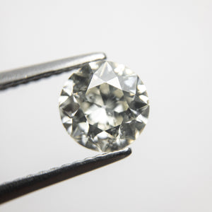 1.22ct 7.01x6.92x3.90mm Si2/I1+ K-L Old European Cut 18345-02 - Yuliya Chorna Jewellery