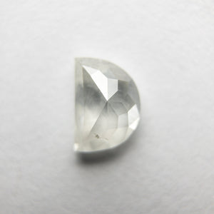 0.80ct 6.37x4.44x2.95mm Half Moon Rosecut 18351-15 - Yuliya Chorna Jewellery