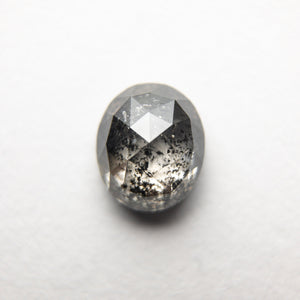 1.15ct 6.60x5.57x3.35mm Oval Rosecut 18352-15 - Yuliya Chorna Jewellery