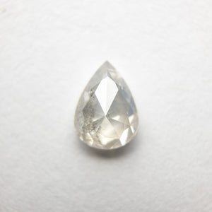 0.77ct 6.91x5.00x2.74mm Pear Rosecut 18361-12 - Yuliya Chorna Jewellery