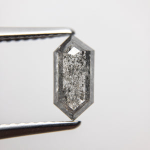 1.10ct 8.96x4.31x2.89mm Hexagon Rosecut 18366-10 - Yuliya Chorna Jewellery